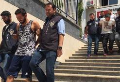 Polis memuruyla aynı otelde tatil yapınca yakalandılar