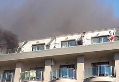 Son dakika: Antalya'da lüks otelde yangın