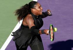 Serena Williams ilk turda veda etti