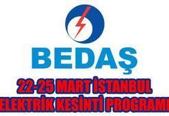22 Mart İstanbul elektrik kesintisi ne kadar sürecek İstanbulda elektrikler ne zaman gelecek