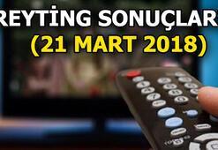 21 Mart 2018 Reyting sonuçları Şok sıralama...