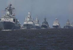 Rus ve Çin savaş gemileri boy gösterdi