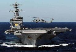 ABD donanmasının en ünlü uçak gemisi Egede