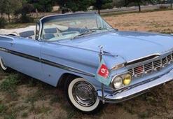 47 bin dolara aldığı antika otomobili, 50 bin TLye yeniletti