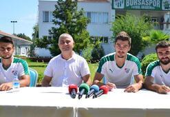 Bursaspor altyapısında imzalar atıldı