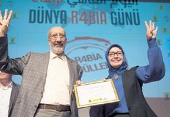 Rabia ödülü Erdoğan'a