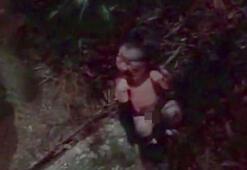 Apartmanın bahçesinde kanlar içine bebek buldu