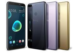 HTC Desire 12 ve 12+ resmi olarak duyuruldu