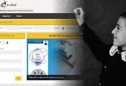 E-Okul ile TEOG Sonuçları ve Lise Kayıt İşlemleri sayfası