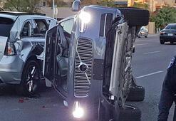 Uberin sürücüsüz aracı kaza yaparak 1 kişinin ölümüne neden oldu