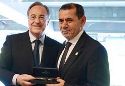 Real Madridden G.Saraya hoşgeldin yemeği