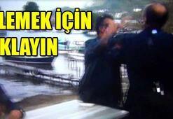 AK partili vekilin elini sıkmadı üyeye de tokat attı