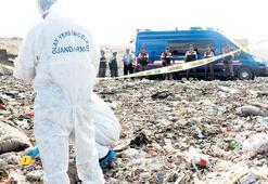 Şile'de çöp döküm sahasında vahşet