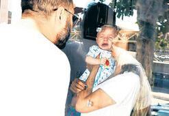 Bebeği ile  sağlık ocağında  mahsur kaldı