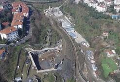 Dolmabahçe-Levazım tünelinin son görüntüsü yayınlandı