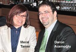 Daron Acemoğlu ile akademik ziyafet masasında...