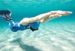 Su altında Türkiye rekoru