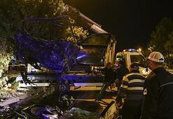 Ankarada feci kaza: 2 ölü