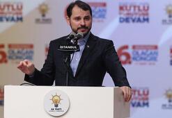 Enerji Bakanı Albayraktan önemli Afrin mesajı
