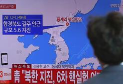 Son dakika: Kuzey Kore hidrojen bombası denedi, 6.3lük deprem oldu