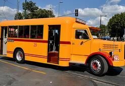 İETTnin yeni nostaljik otobüsü sefere hazırlanıyor