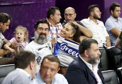 Yunan gelinin milli takım heyecanı