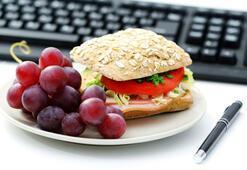İş hayatında sağlıklı beslenme