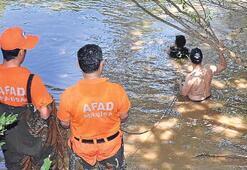 Sara hastası, Gediz Nehri'nde boğuldu