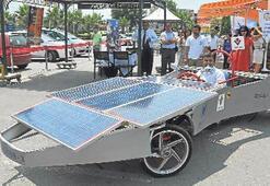 Bornova'da hidrojenle çalışan araçlar tanıtıldı