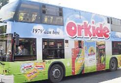 Orkide, İstanbul'da mobil reklama geçti