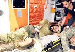 Yaralılar Türkiye'ye getirildi