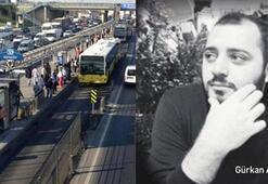 Metrobüs durağındaki cinayetle ilgili bir kişi gözaltına alındı