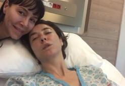 Ünlü oyuncu ameliyat oldu İşte hasta yatağından ilk görüntüler