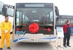 Çinden hidrojenle çalışan otobüs geliştirildi