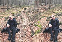 Şok Ünlü oyuncu ormanda kayboldu Berna Laçin...