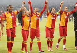 G.Sarayda kutlama Trabzonspor maçında