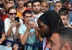 Galatasarayda Cavanda taraftarla buluştu