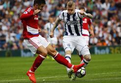 West Bromwich - Middlesbrough maçından kareler