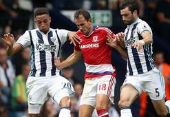 West Bromwich Albion-Middlesbrough: 0-0