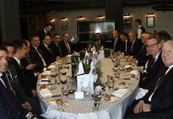 Beşiktaş ve Bayernli yöneticiler bir araya geldi...