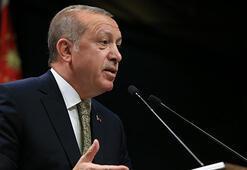 Cumhurbaşkanı Erdoğandan terörle mücadele için marş önerisi