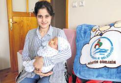 Bebeklerin ihtiyaçları belediyeden