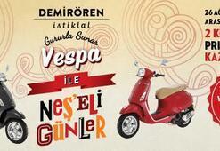 Vespa Primavera 150 kazanma şansı Demirören İstiklal'de