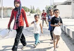IŞİD'in infaz meydanında  şimdi çocuklar oynuyor