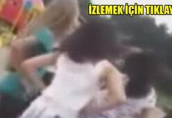 Bursada tekme tokat kız kavgası