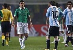 Arjantini Messi de kurtaramadı: 1-1