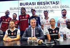 Beşiktaştan imza şov 8 oyuncu...