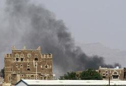 Koalisyon uçakları Yemen'i vurdu