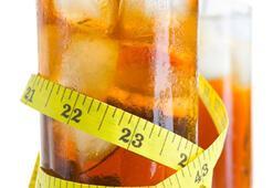 Diyet içecekler belinizi inceltir mi