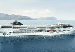 Cruise gemisi yeniden Türkiyede